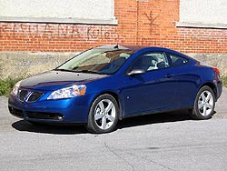 test drive 2006 pontiac g6 gtp coupe. Black Bedroom Furniture Sets. Home Design Ideas
