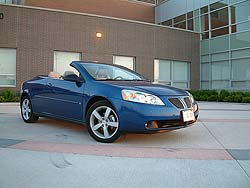 Test Drive 2006 Pontiac G6 Gtp Convertible Autos Ca