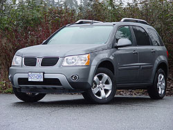 Test Drive: 2006 Pontiac Torrent FWD pontiac
