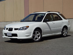 2006 Subaru Impreza 2.5i Sport Wagon; photo by Greg Wilson
