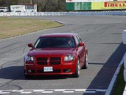 Track testing the 2006 Dodge Magnum SRT8