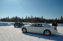 Traction 2006: Dodge Charger (foreground) and Dodge Magnum