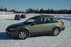Traction 2006: Subaru Outback Limited