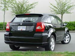 2007 Dodge Caliber SXT; photo by Greg Wilson