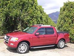 First Drive: 2007 Ford Explorer Sport Tra first drives