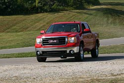 The first new GMC drives out along the proving grounds