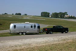 Hauling an Airstream trailer