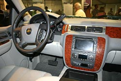 The interior of the Chevrolet LTZ. This is the