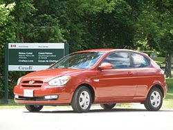 2007 Hyundai Accent two-door hatchback