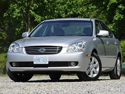 First Drive: 2007 Kia Magentis kia ford first drives