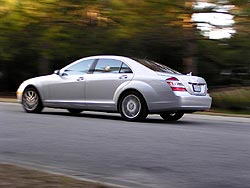 First Drive:  2007 Mercedes Benz S550 first drives