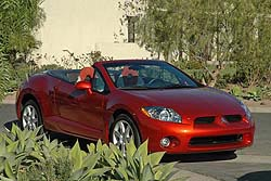 First Drive: 2007 Mitsubishi Eclipse Spyder  first drives