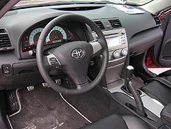 first drive 2007 toyota camry. Black Bedroom Furniture Sets. Home Design Ideas