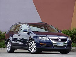 test drive 2007 volkswagen passat wagon 3 6 4motion. Black Bedroom Furniture Sets. Home Design Ideas
