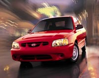 2000 Hyundai Accent Base