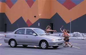Test Drive: 2000 Kia Sephia car test drives kia