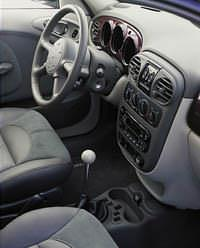 2001 PT Cruiser leather interior