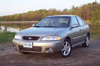 Test Drive: 2001 Nissan Sentra SE car test drives nissan
