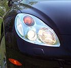 2002 Lexus SC 430 headlight