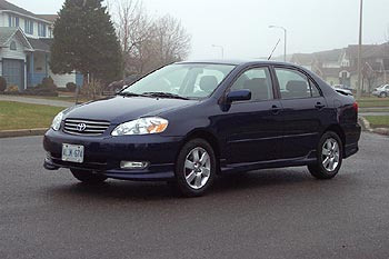 Awesome 2003 Toyota Corolla S