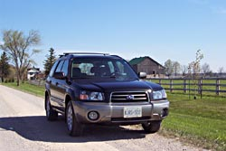First Drive: 2003 Subaru Forester subaru first drives
