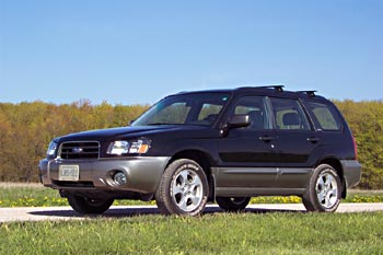 First Drive: 2003 Subaru Forester first drives