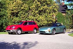 Mitsubishi Outlander and Eclipse Spyder