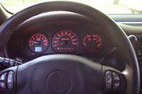 2003 Pontiac Montana GT -  gauges