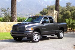 Test Drive: 2003 Dodge Ram Heavy Duty 2500 4x4 HEMI trucks car test drives dodge
