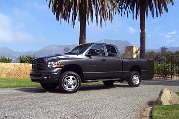 Test Drive: 2003 Dodge Ram Heavy Duty 2500 4x4 HEMI dodge