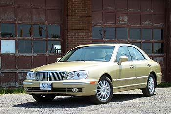Test Drive 2003 Hyundai Xg350 Autos Ca