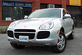 Test Drive: 2004 Porsche Cayenne S and Cayenne Turbo - Autos ca