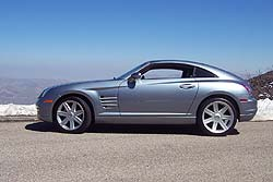 First Drive: 2004 Chrysler Crossfire chrysler