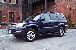Used Vehicle Review: Lexus GX, 2004 2009 used car reviews reviews luxury cars lexus