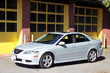 Test Drive 2004 Mazda6 Gs V6 Autos Ca