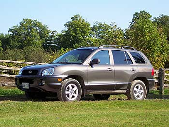 First Drive 2004 Hyundai Santa Fe Gls 3 5 And 2004