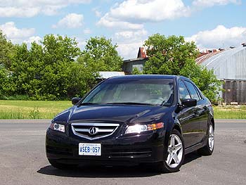 2004 Acura TL with Dynamic Package