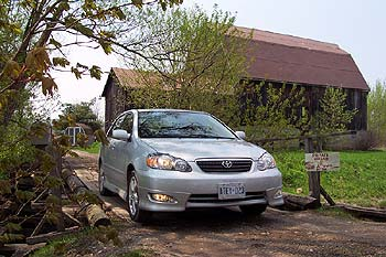 First Drive: 2005 Toyota Corolla and Matrix toyota first drives