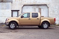 2005 Nissan Frontier Crew Cab