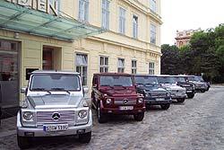 G-Class variants in Vienna