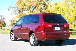 Used Vehicle Review: Toyota Sienna, 2004 2010 used car reviews toyota