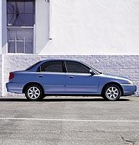 2003 Kia Spectra