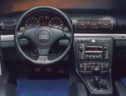 2000 Audi S4 dash