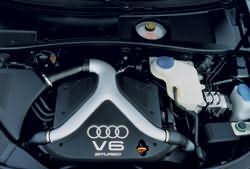 2000 Audi S4 engine