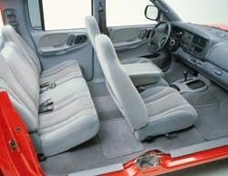 Dodge Dakota Quad Cab Interior