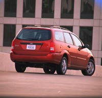 Test Drive: 2000 Ford Focus Wagon car test drives ford