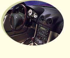 2000 Mazda Miata Special Edition interior