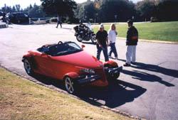 The author's test car
