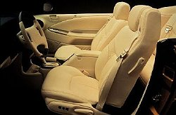 Chrysler Sebring convertible interior