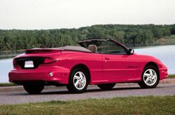2000 Pontiac Sunfire Convertible